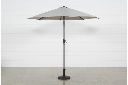 Outdoor Tan Parasol Umbrella - Main