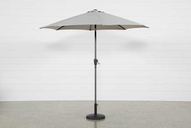 Outdoor Tan Parasol Umbrella - 360