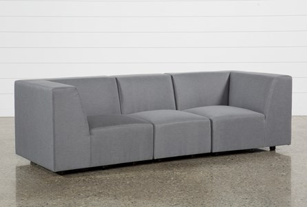 Outdoor Saint Vincent 3 Piece Sectional