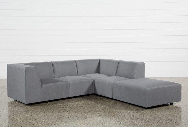 Outdoor Saint Vincent 5 Piece Sectional - 360