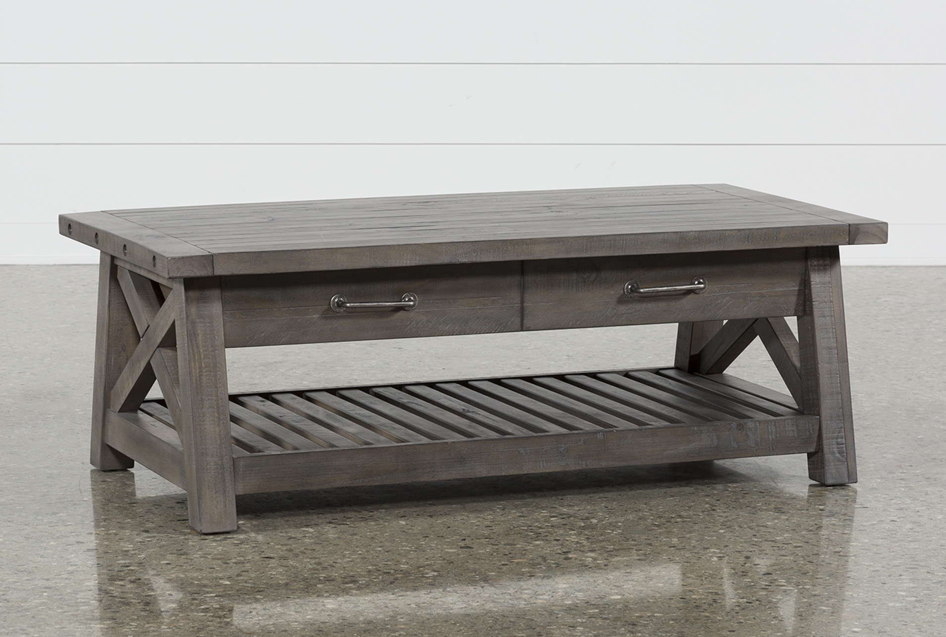Jaxon Grey Lift-Top Coffee Table Living Spaces