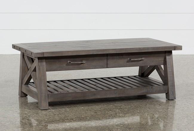 Jaxon Grey Lift-Top Coffee Table - 360