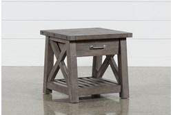 Jaxon Grey End Table