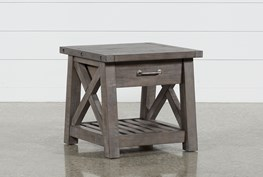 Jaxon Grey End Table