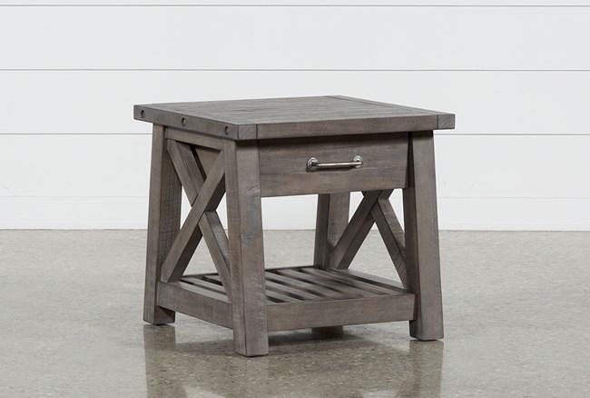 Jaxon Grey End Table - 360