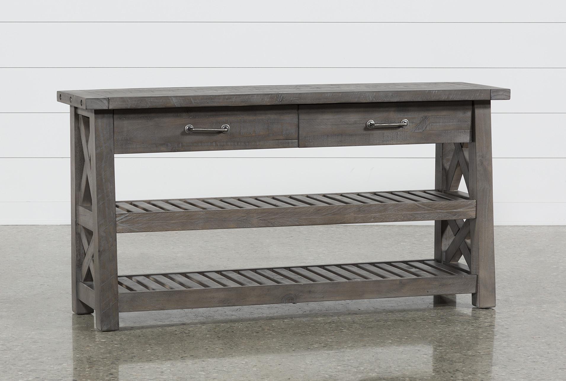 jaxon grey sofa table living spaces rh livingspaces com grey sofa table ikea grey sofa side table