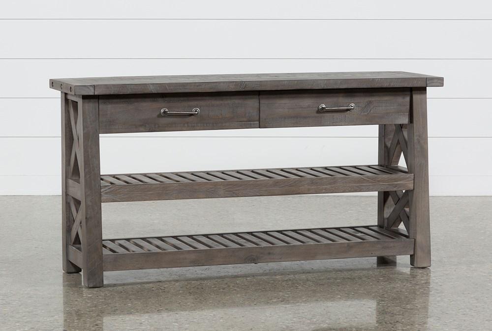 "Jaxon Grey 60"" Sofa Table"