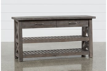 "Jaxon Grey 60"" Sofa Table"