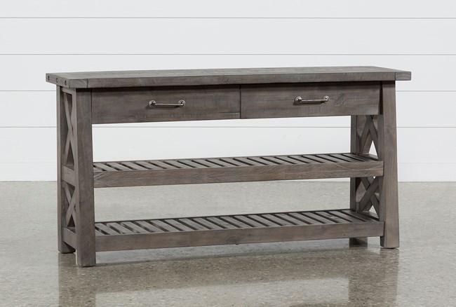 Jaxon Grey Sofa Table - 360