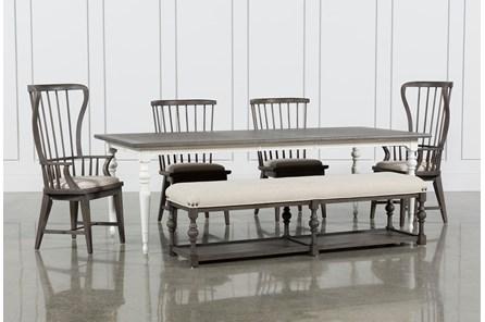 Candice II 6 Piece Extension Rectangle Dining Set - Main
