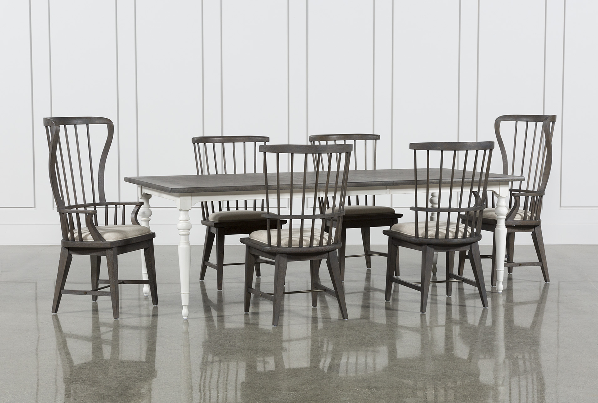 Candice II 7 Piece Extension Rectangle Dining Set