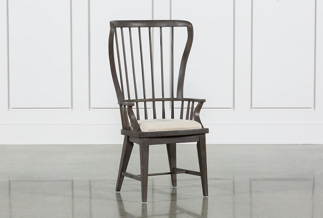 Candice II Slat Back Host Chair - 360