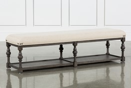 Candice II Upholstered Dining Bench