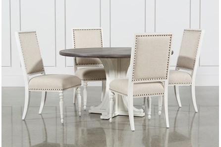 Candice II 5 Piece Round Dining Set - Main