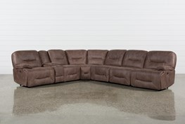 Jackson 6 Piece Power Reclining Sectional W/ Sleeper