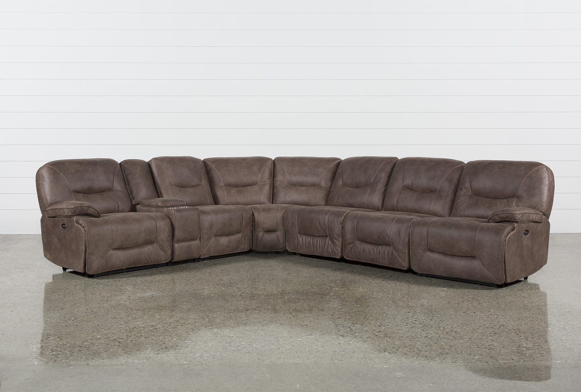 Jackson 6 Piece Power Reclining Sectional W/ Sleeper (Qty: 1) Has Been  Successfully Added To Your Cart.