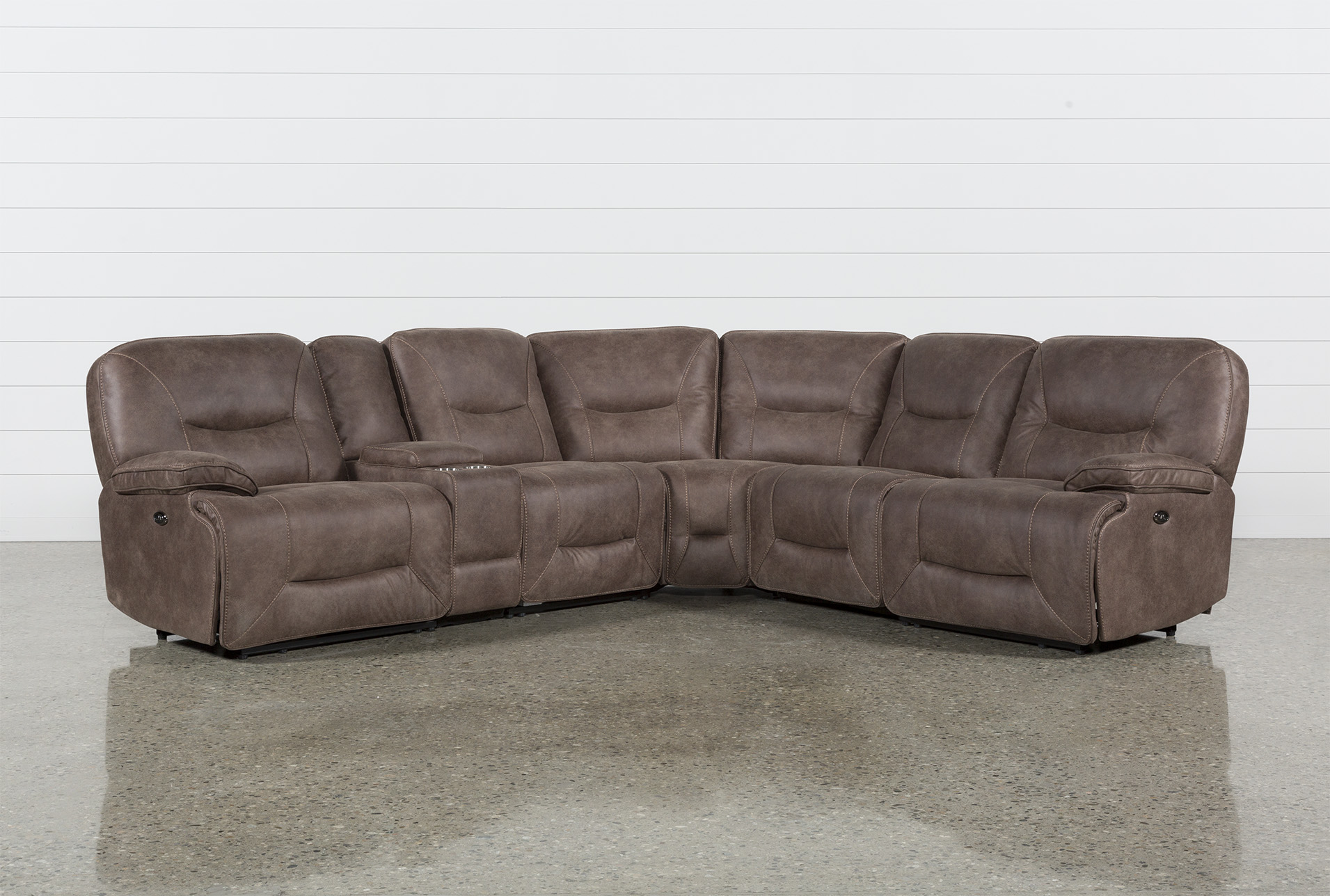 Ordinaire Jackson 6 Piece Power Reclining Sectional