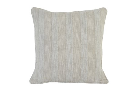 Accent Pillow-Heritage Linen Pebble 22X22 - Main