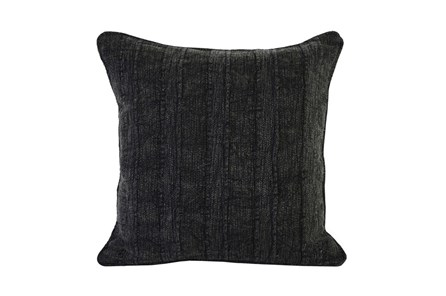 Accent Pillow-Heritage Linen Onyx 22X22 - Main