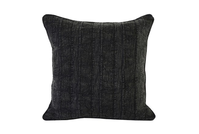 Accent Pillow-Heritage Linen Onyx 22X22 - 360