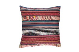 Accent Pillow-Raffia Stripe Multi 20X20
