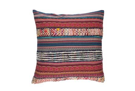 Accent Pillow-Raffia Stripe Multi 20X20 - Main