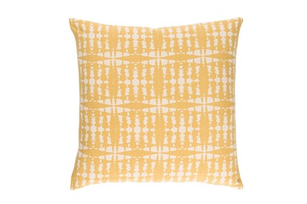 Accent Pillow-Jetson Yellow 22X22 - Main