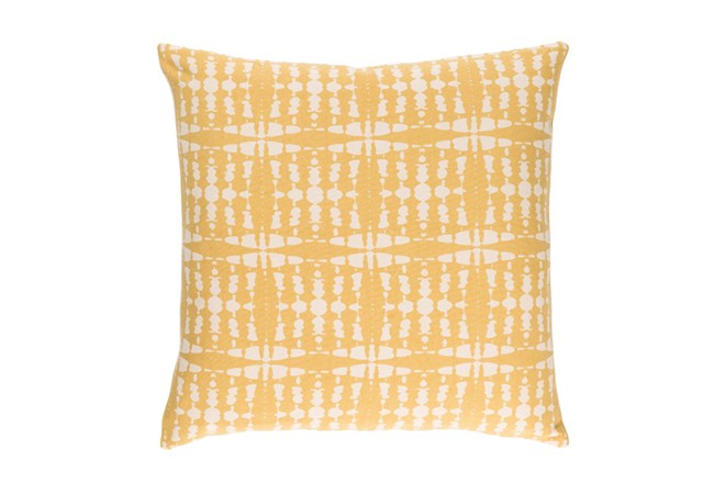 Accent Pillow-Jetson Yellow 22X22 - 360