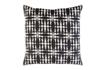 Accent Pillow-Jetson Black 22X22 - Main