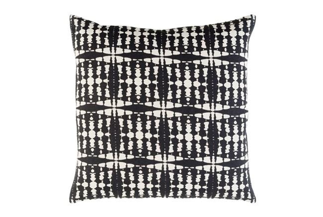 Accent Pillow-Jetson Black 22X22 - 360