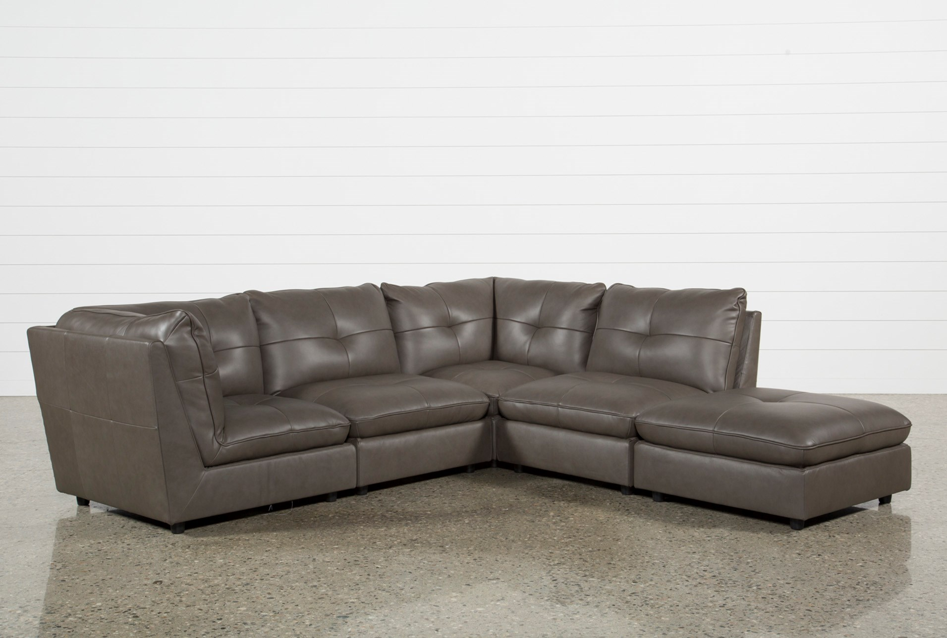 zoom product hover left gray torrey sectionals room furniture sectional piece to facing seating levin item sofa living