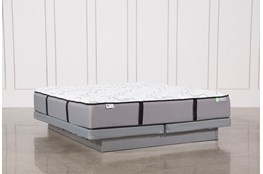 Kit-Revive Gel Springs Medium Cal King Mattress W/Low Profile Foundation
