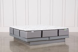 Revive Gel Springs Medium Cal King Mattress W/Low Profile Foundation
