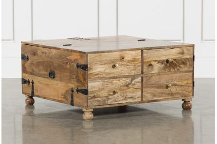 Square Barbox Coffee Table - Main