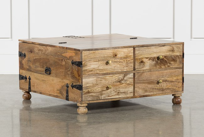 Square Barbox Coffee Table - 360