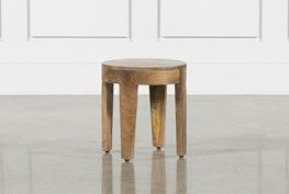 Pyles 15 Inch Circle Accent Table