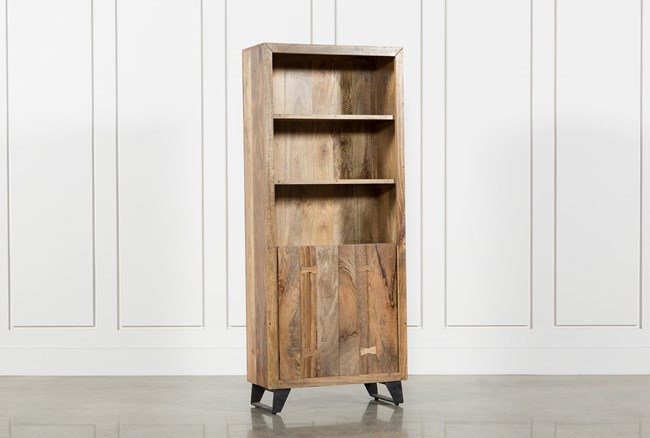 Moraga Live Edge Bookcase - 360