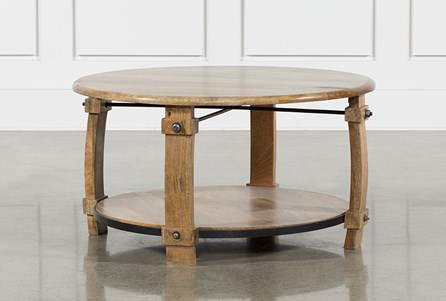 OTB MORAGA BARREL COFFEE TABLE