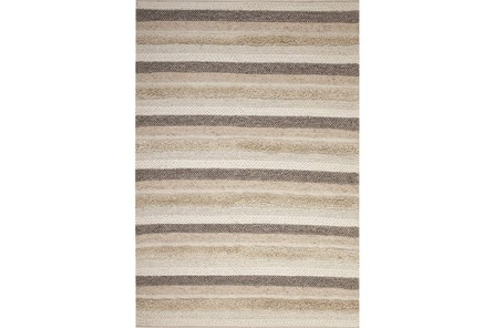 63X90 Rug-Winter Stripe Camel - Main