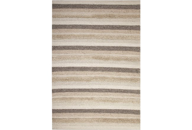 96X120 Rug-Winter Stripe Camel - 360
