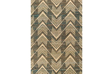 63X91 Rug-Niall Arrows Smoke - Main