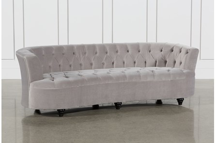 Tufted Velvet Sofa - Main