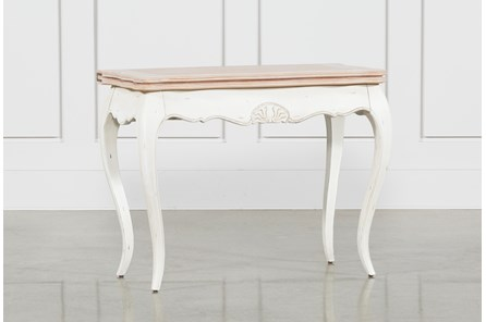 White Wash Console Table - Main
