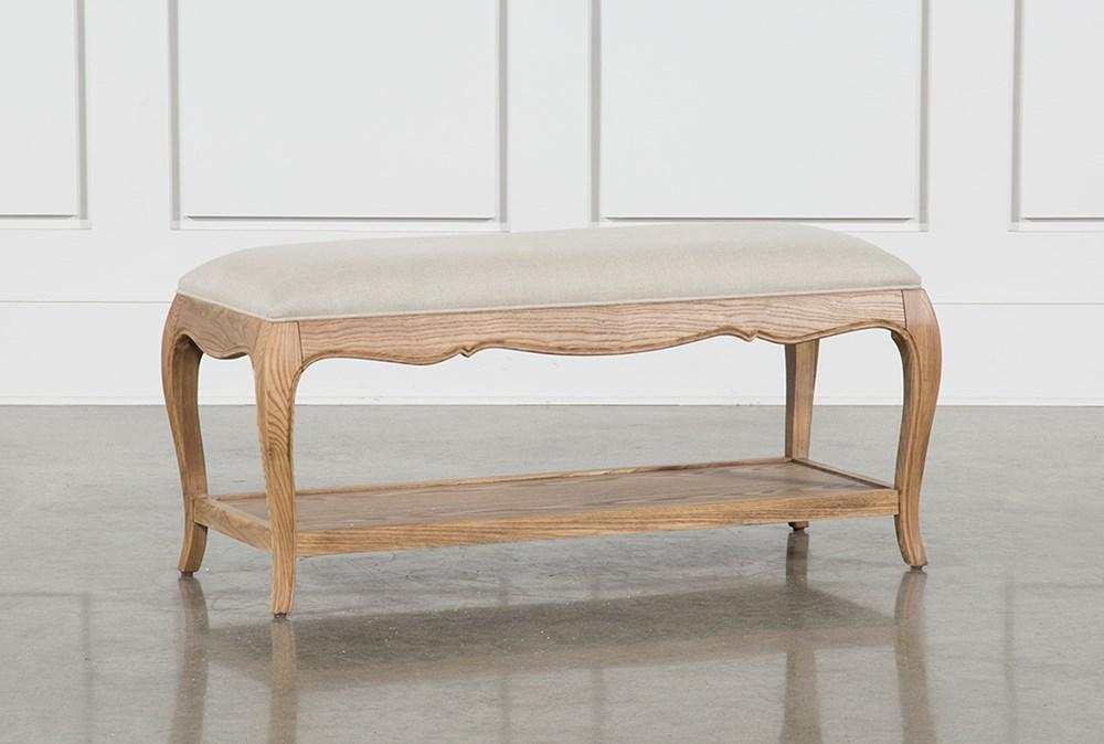 Isabelline Upholstered Bench