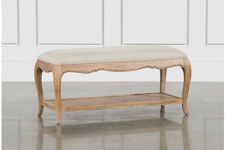 Isabelline Upholstered Bench