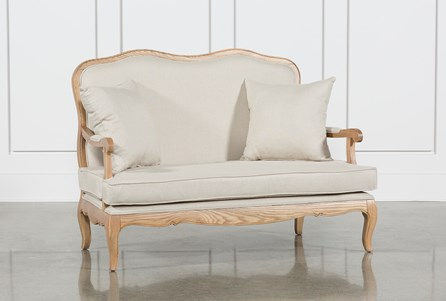 Isabelline Salon Loveseat
