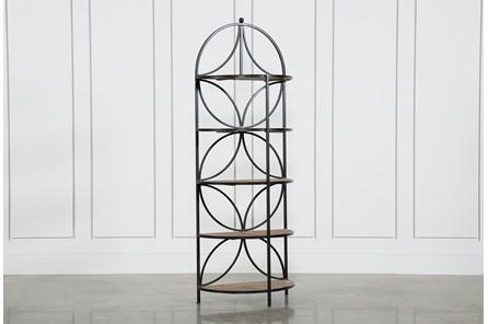 Tahquitz Iron And Wood Shelf - Main