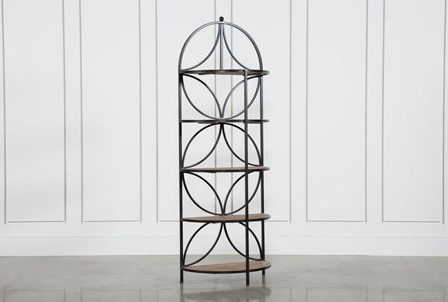 Tahquitz Iron And Wood Shelf - 360