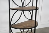 Tahquitz Iron And Wood Shelf - Material