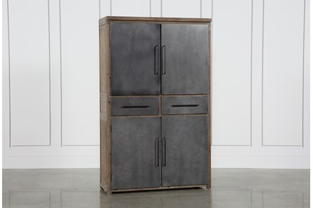 Metal Wood Mix Cabinet - Main
